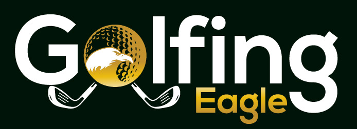 Golfing Eagle Logo Reverse