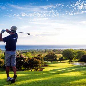 A Confident Golfer