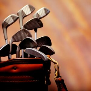 Different golf clubs give varied distances