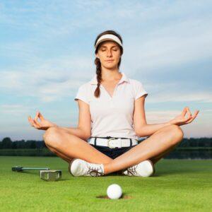 Golfer yoga