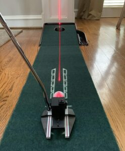 Mark-Tech Rechargeable Red Laser Putter Golf Training Aid
