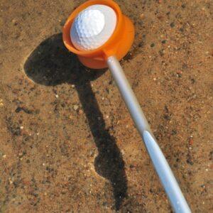 Golf Ball Retriever in use