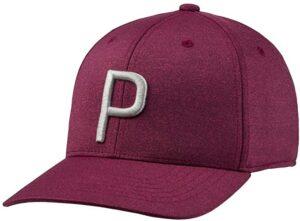 "Puma Golf ""P"" Snapback Hat"